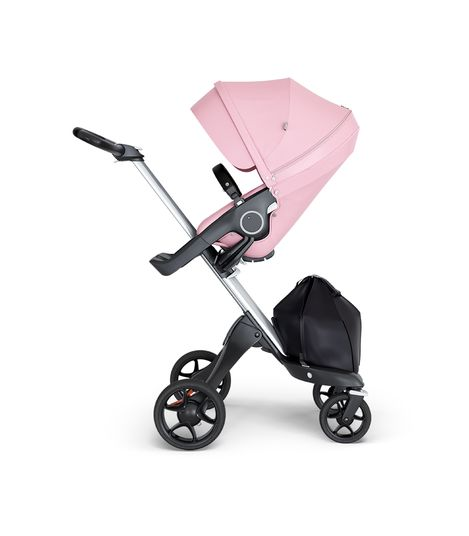 Stokke® Xplory® V6 Silver Chassis w/black leatherette image 8