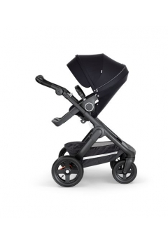 Stokke® Trailz™ Black με τροχούς παντός καιρού w/black leatherette image Black