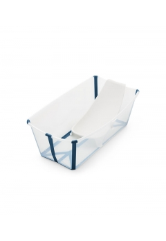 Stokke® Flexi Bath® Bundle με υποστήριξη image Transparent blue
